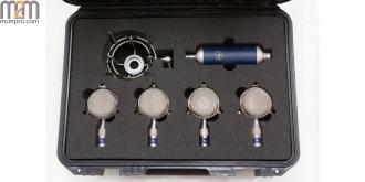 BLUE - Bottle Mic Locker