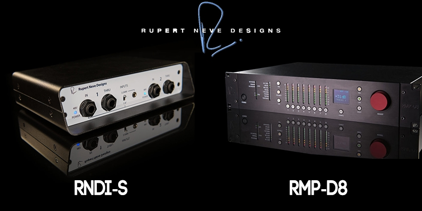 NEW FOR NAMM 2018: The RNDI-S and the RMP-D8